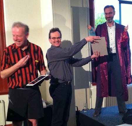 Ig Nobel 24/7 Lectures, Leiden [photo Kees Moeliker]