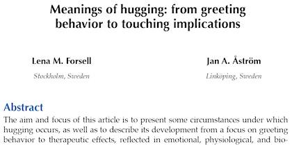 hugging-study