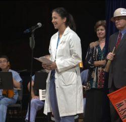Natalia Berry, 2018 Ig Nobel Prize Ceremony
