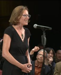 Rebecca Nesson, 2019 Ig Nobel Prize Ceremony