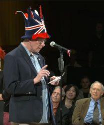 Rich Roberts, 2019 Ig Nobel Prize Ceremony