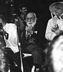 James Randi, on the ig Nobel Stage